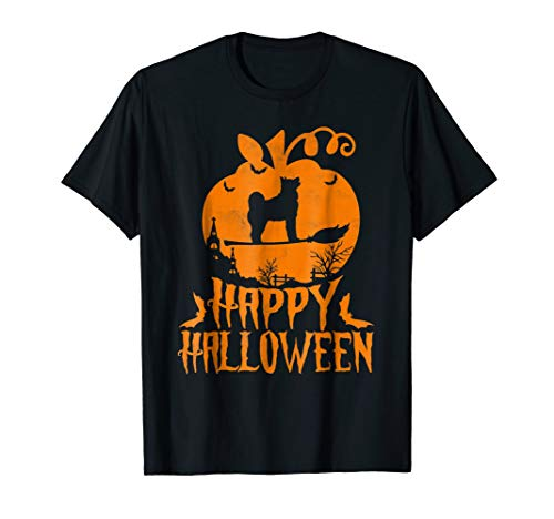 Nikita Inu Dog Happy Halloween T-Shirt