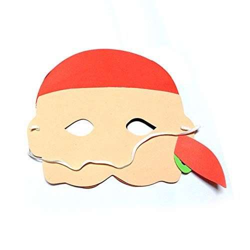 Cywulin Halloween Party EVA Foam Cartoon Mask Funny Cosplay Dress-up Costume Birthday Party for Men Women Kids -
