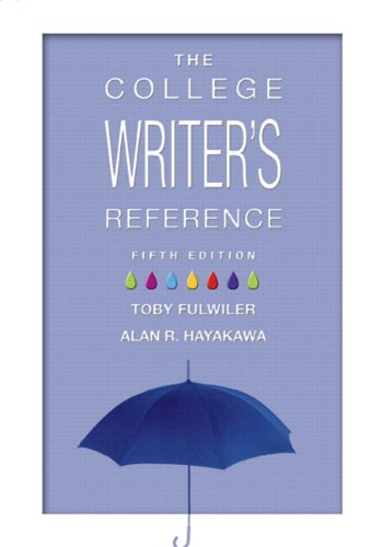 College Writer's Reference, The (Tabbed Version) (with MyCompLab NEW with E-Book Student Access Code Card) (5th Edition)