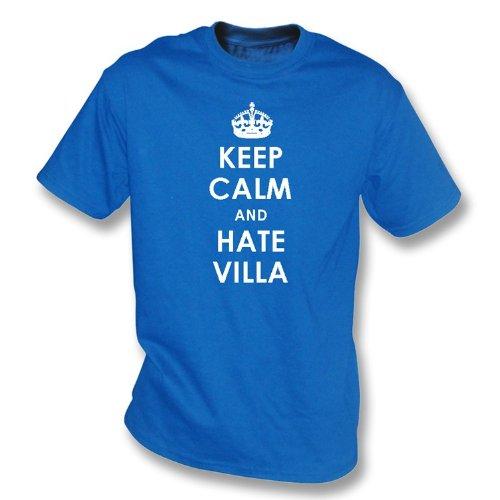 Keep Calm And Hate Villa T-shirt Birmingham City -