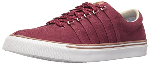 K-Swiss Women's Surf 'N Turf Fashion Sneaker, Tawny Port/Raw Umber/White, 7 M US
