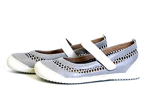 Women Softwaves 01 kombi 81 flat grey Slipper beige 6 Bfqfw6d
