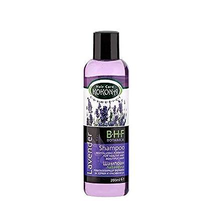 BHF Champú con Extracto de Lavanda para Cabello Graso o Cuero Cabelludo Sensible 200 ml Sin Parabenos