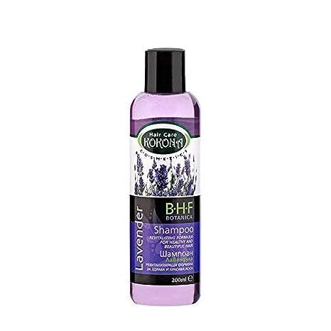 BHF Champú con Extracto de Lavanda para Cabello Graso o Cuero Cabelludo Sensible 200 ml Sin Parabenos: Amazon.es: Belleza