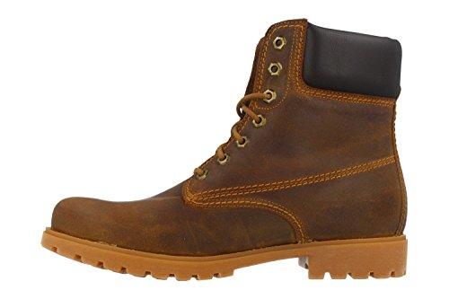 Panama Boots 03 C45 VELORU Grass Leder Braun