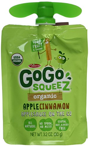 GoGo SqueeZ Organic Apple Sauce product image