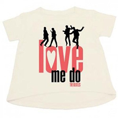 Bravado Girls T-shirt (Bravado  Beatles 'Love Me Do' Little Girls T-Shirt (4T))