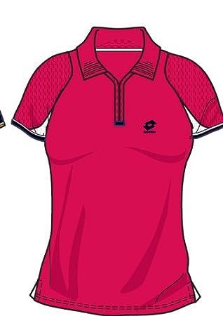 Lotto Polo WTA Tour Oro, Mujer, Geranium: Amazon.es: Deportes y ...