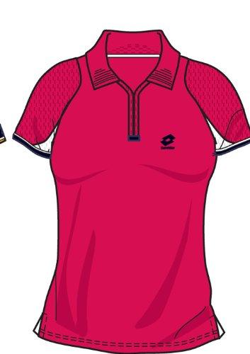 Lotto Poloshirt WTA Tour Gold, Damen, geranium G7962