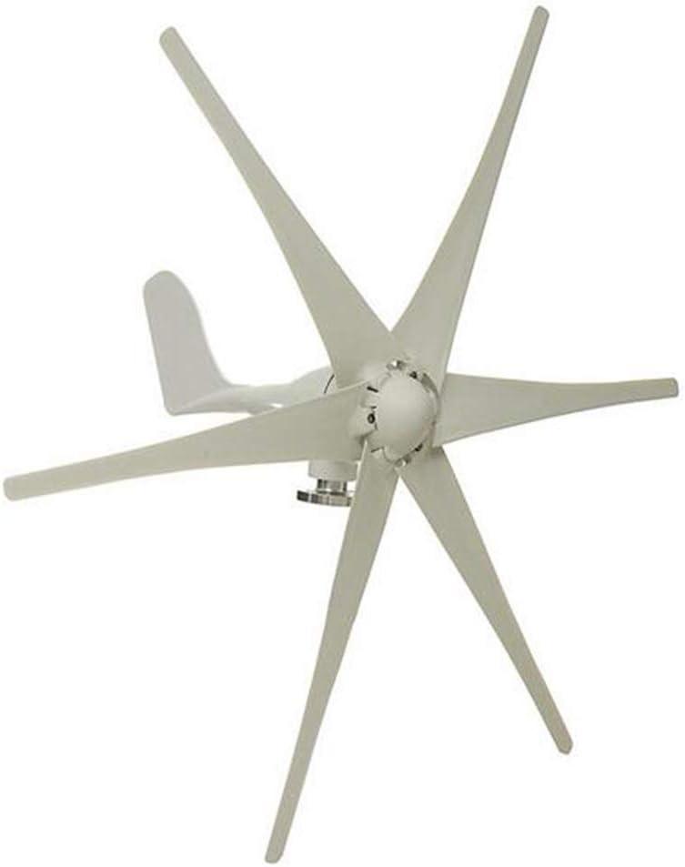 MEIGONGJU 6000W 48V 6 Blade Wind Turbines Generator Efficient Wind Turbines Horizontal Home Power Windmill Energy Turbines Charge