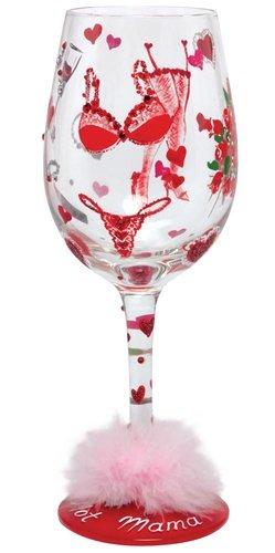 Lolita Wine Glass Hot Momma, Valentine - Wine Martini New Love GLS11-5535E