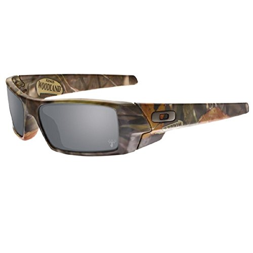 Oakley Men's Gascan 03-483 Rectangular Sunglasses, Woodland Camouflage, 61 - Sunglasses Oakley Camouflage