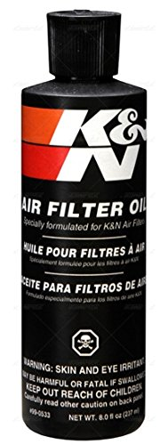 8 oz K&N Air Filter Oil and Cleaning