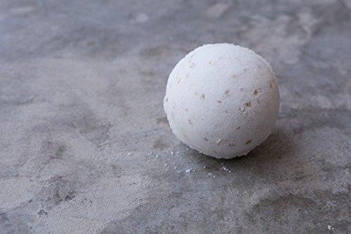 ONE Oatmeal Milk + Honey Bath Bomb || bath fizzy / relax / moisturizing / epsom salt / bath time / color free / pamper / almond / bath bomb - Almond Milk Bath Salts