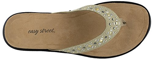 Easy Street 30-7097 Womens Stevie Sandal Taupe