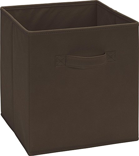 SystemBuild Fabric Storage Bin, Brown