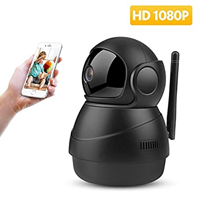 Baby Monitor Camera 1080P FHD WiFi IP Camera Wireless Camera with Night Vision Motion Detection 2-Way Audio Home Security Surveillance Pan/Tilt/Zoom Monitor for Baby/Elder/Pet