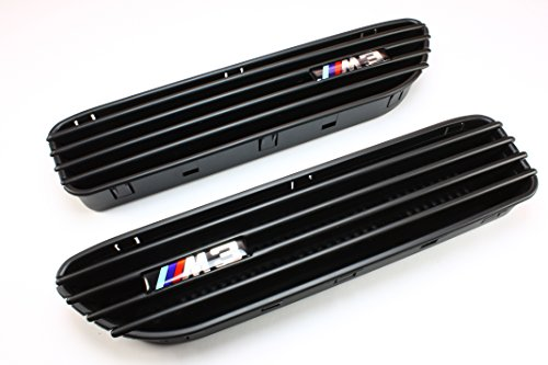Price comparison product image B2 BW-SG08BK BMW E46 M3 Black Side Fender Grille Grill Vents