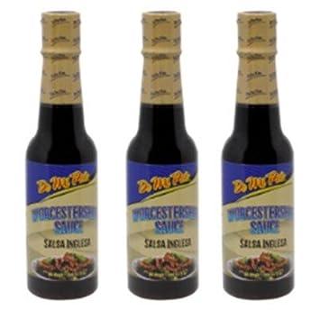 Salsa Inglesa / Worcestershire Sauce 5.7 oz - 3 Pack
