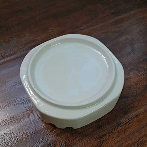 葉巻灰皿, ロングジャンプ大五インチスクエアセラミック灰皿灰皿クリエイティブホームミニマリストスタイルと実用的な灰皿、5インチスクエア灰皿