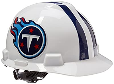 MSA Safety 818413 NFL V-Gard Protective Cap, Tennessee Titans