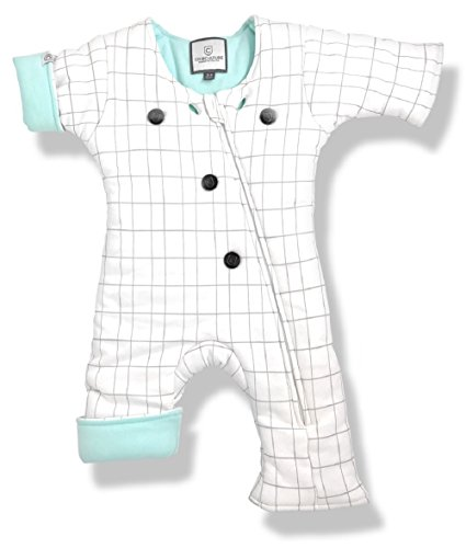 Baby Sleep Suit for Helping Your Sleeping Infant or Toddler Transition from Swaddling - Better Than a Sleep Sack or Swaddle Blanket so Your Baby Can Move - Boy and Girl Sleeper Pajamas (3-7 Months)