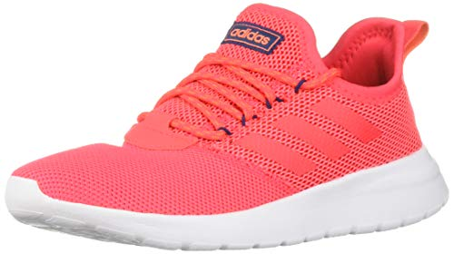 adidas Women's Lite Racer Reborn, Shock red/True Orange, 9 M US