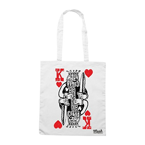 Borsa King Of Hearts - Bianca - Poker by Mush Dress Your Style