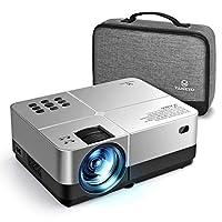 VANKYO Leisure 420 Mini Projector, 3200 Lux Portable Home Movie Cinema, 1080P Supported, 200'' Projection Size, Compatible w/Fire TV Stick, PS4, Xbox, HDMI, VGA, AV, USB