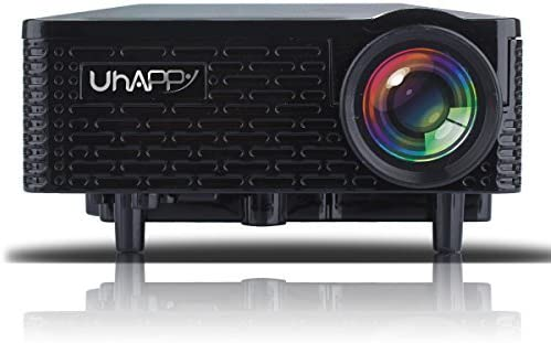Uhappy U18 portátil Mini LED HD proyector Home Cinema teatro ...