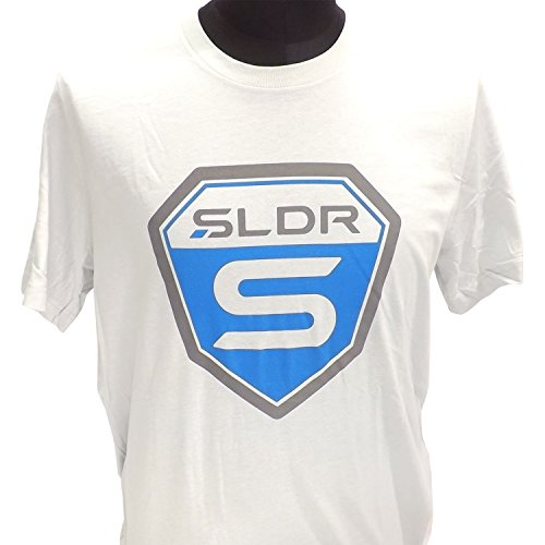 NEW TaylorMade Mens SLDR S Light Gray T-shirt Size Large L Short (Driver Short Sleeve T-shirt)