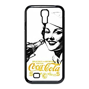Personalized Creative Coca-Cola Golden Beauty Case SamSung Galaxy S4 I9500 Case, Best Durable Coca Cola Galaxy S4 Case Cover