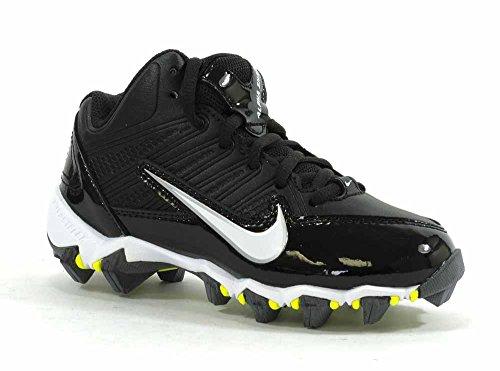 Nike Kids Boy's Alpha Shark 3/4 Black/Black/Volt/White 11 Li