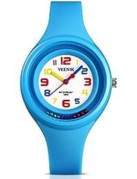 Kids Sport Watch with 50M Waterproof, Quartz Wrist Watch...