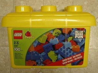 Amazon.com: LEGO Duplo 5367 mejor Building más divertido 100 ...