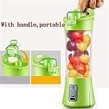 Tiru Traders Portable Usb Electric Juicer, Blender Drink Bottle,380Ml Juicer Cup With 2000 Mah Power Bank