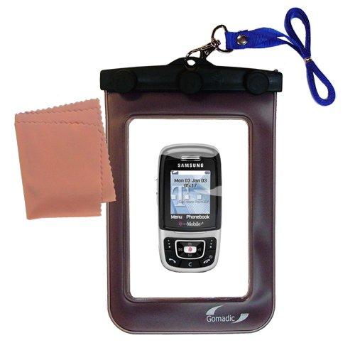 Gomadicアウトドア防水携帯ケースSuitable for the Samsung sgh-e635に使用Underwater – keepsデバイスClean and Dry   B0049KS1W6