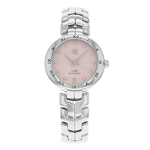 TAG Heuer Women's WAT2313.BA0956 Link Swiss Automatic Silver Watch (Heuer Tag Swiss Link)