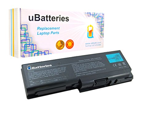 (UBatteries Compatible 71Whr Battery Replacement For Toshiba Satellite P305-S8920 P305-S8996E P305-S8997E P305-ST771E PA3536U-1BRS PA3537U-1BAS - 9 Cell, 6600mAh)
