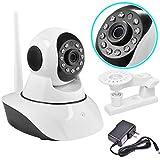 720P Wireless Wifi Webcam CCTV Security Camera Surveillance Night Vision White
