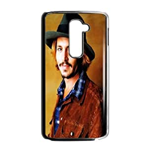 LG G2 Cell Phone Case Black Johnny Depp 2 VIU112357
