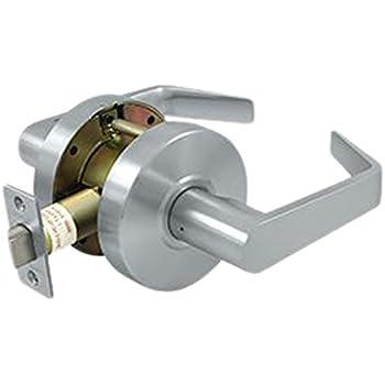 Schlage Nd10s Rho 626 Passage Lever Lockset Satin Chrome