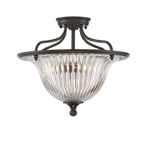 Savoy House Three Light Convertible Semi-Flush 6-151-3-44 - Convertible Semi Flush 3 Light