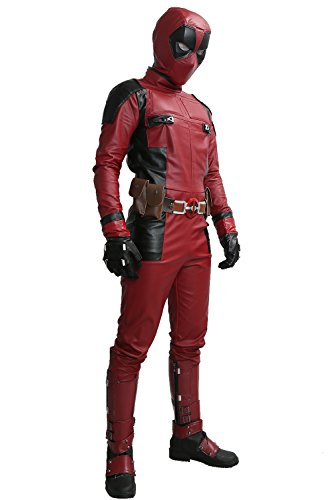 Dead-Cosplay-Pool-Wade-Costume-Jumpsuit-PU-Outfit-Adult-Size