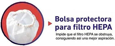 Aspirador de cenizas 1.000 watios con filtro Hepa: Amazon.es ...