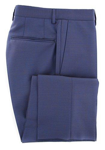 Incotex Dress Pants - Incotex Dark Blue Melange Pants - Slim - 30/46