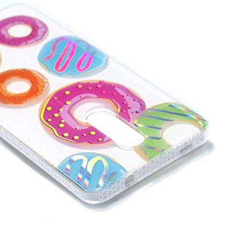 Funda Redmi Note 4X, CaseLover Carcasa para Xiaomi Redmi Note 4X Transparente Suave Silicona TPU Borde + PC Rígida Plástico Espalda Duro Protectora Caso Ultra Delgado Parachoques Híbridos Tapa Anti-Ar Rosquilla
