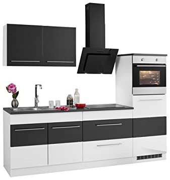 HELD MÖBEL Held Möbel Küchenzeile »Trient« mit E-Geräten, Breite 240 ...