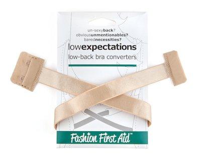 af3cbddfdc43 FASHION FIRST AID  Low Expectations BH-Verlängerung Rückenkonverter  Erweiterung Tiefer BH-Verschluss Rückenfrei Beige Extra Lang  Amazon.de   Bekleidung
