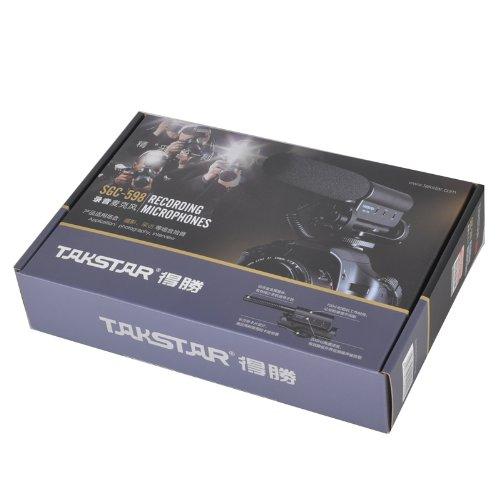 TAKSTAR SGC-598 Photography Interview MIC Microphone for Nikon Canon Camera DV Camcorder